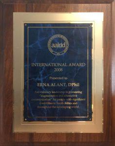AAIDD Award