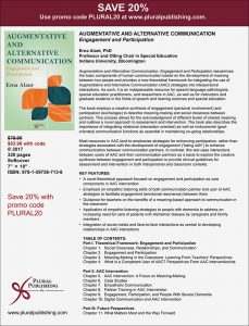 Save 20% on Augmentative and Alternative Communication Book