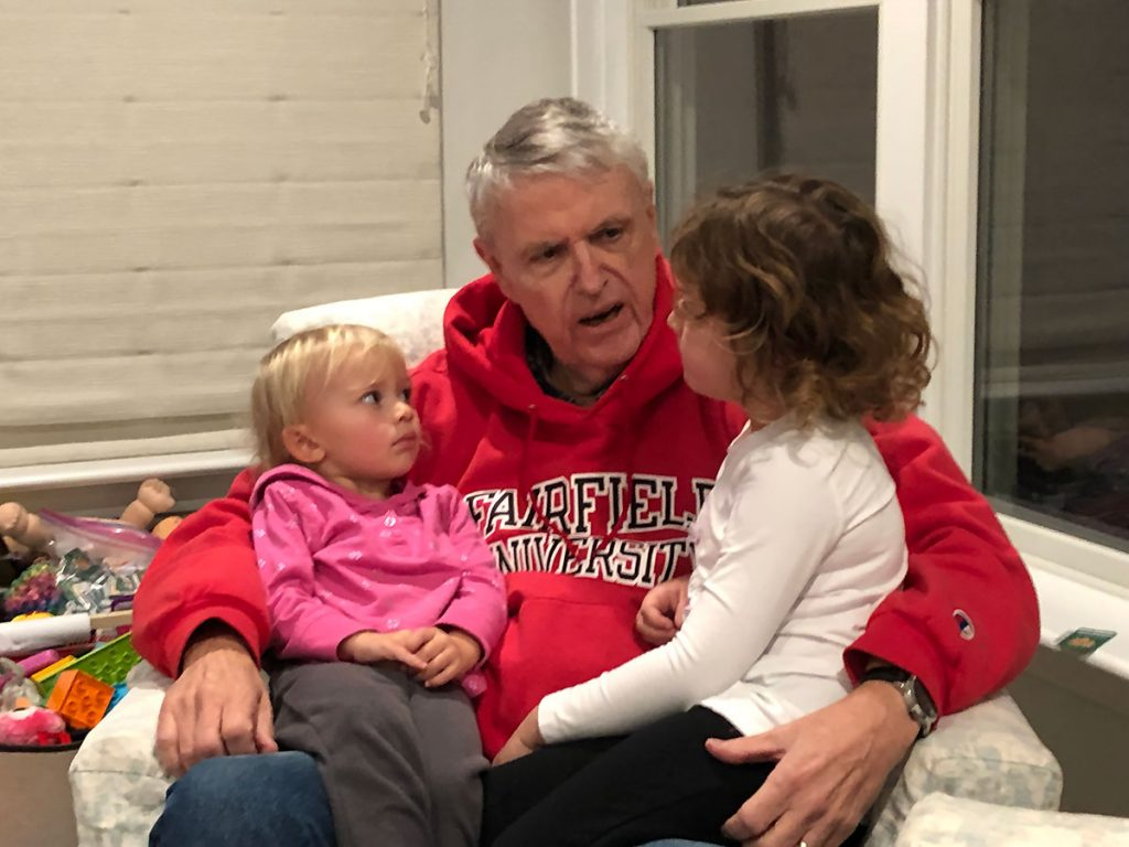 Granddad with Grandkids