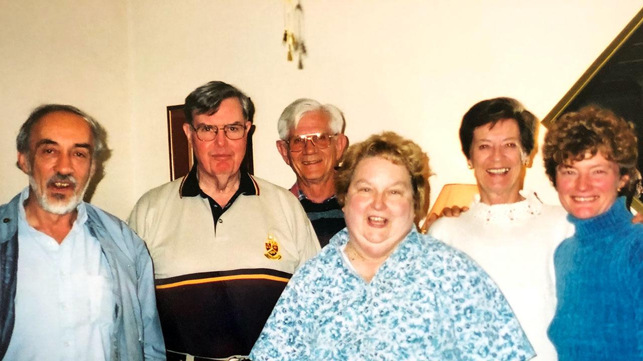 Lyle and Myrna LLoyd in Pretoria